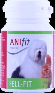 Ergänzungsfuttermittel für Hundefell