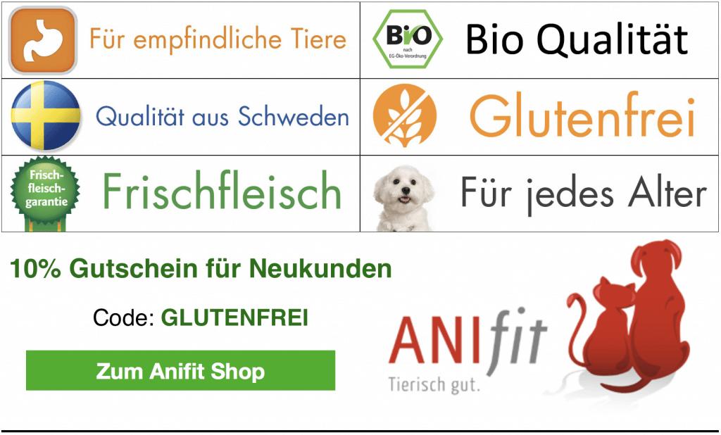 Anifit Hundefutter für empfindliche Tiere