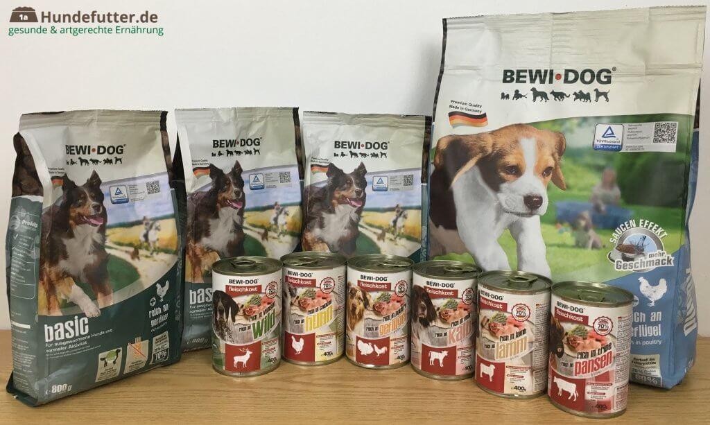 Bewi Dog Hundefutter Test