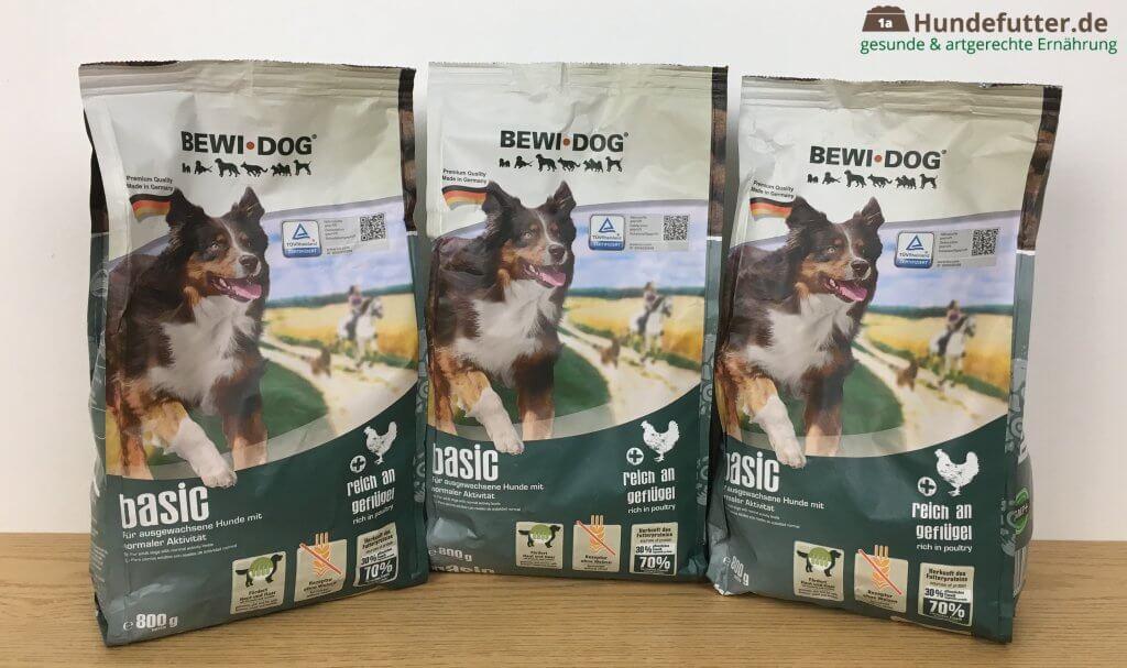 Bewi Dog basic Hundefutter