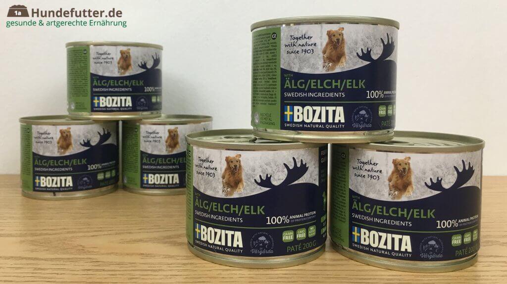 Bozita Hunde-Nassfutter Test