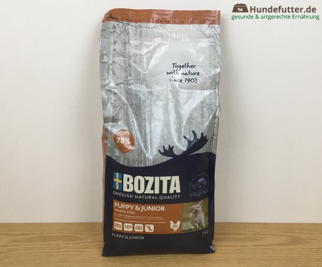 Bozita Puppy & Junior Welpenfutter Test