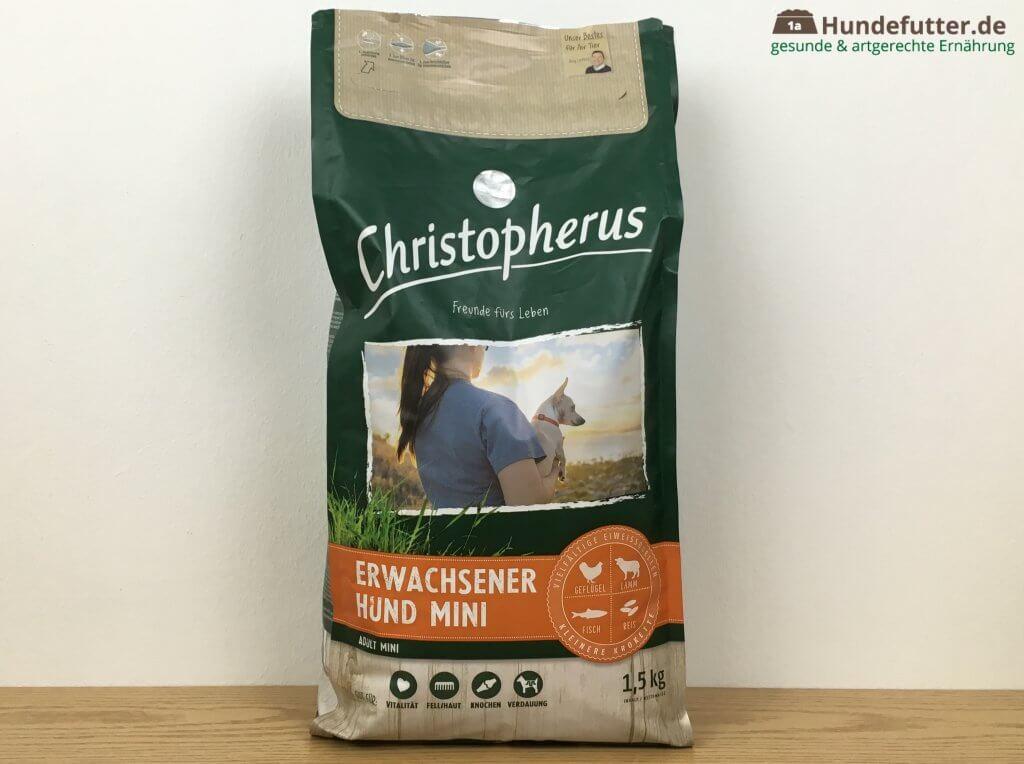 Christopherus Adult Mini Trockenfutter für Hunde