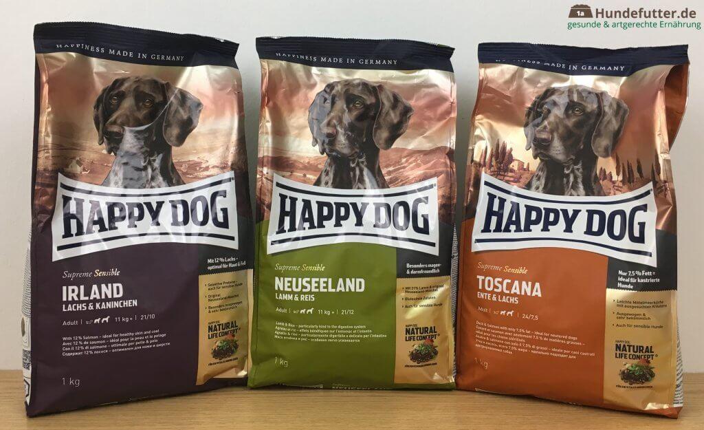 Happy Dog Trockenfutter Test