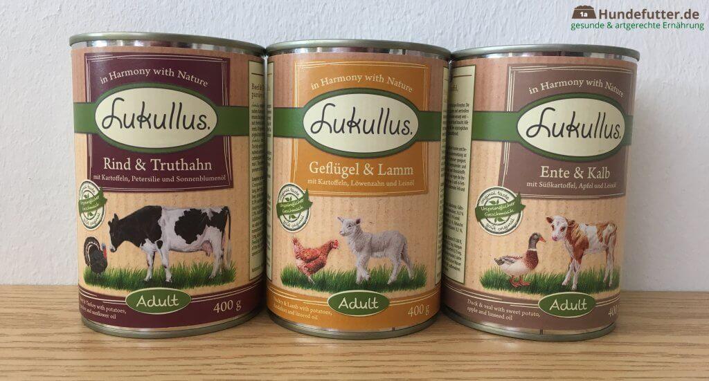 Lukullus Adult Nassfutter für Hunde