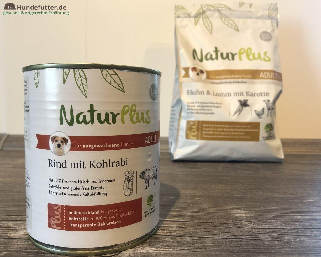 NaturPlus Adult Hundefutter