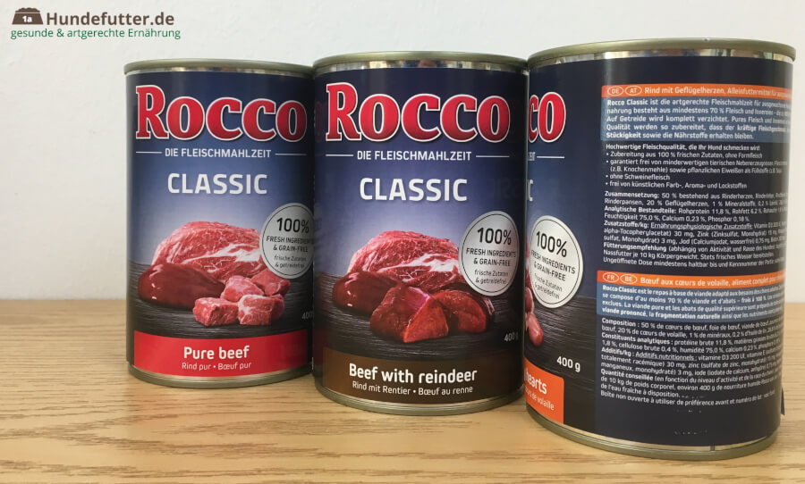 Rocco Classic Adult Nassfutter Test