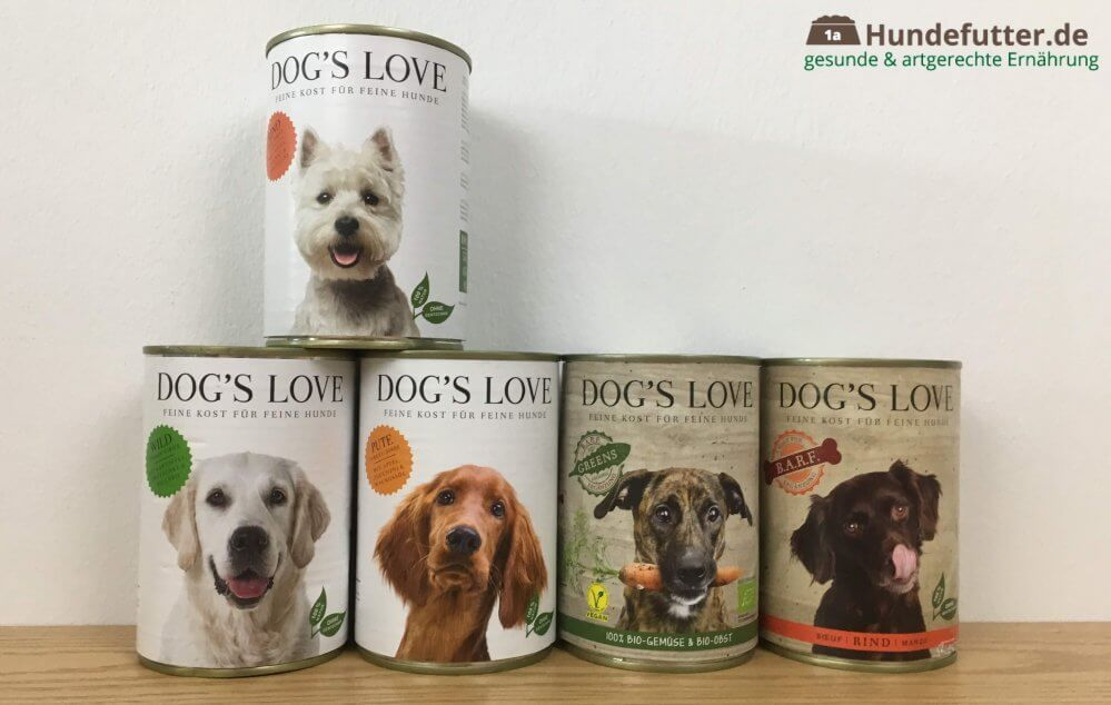 Dog's Love Hundefutter