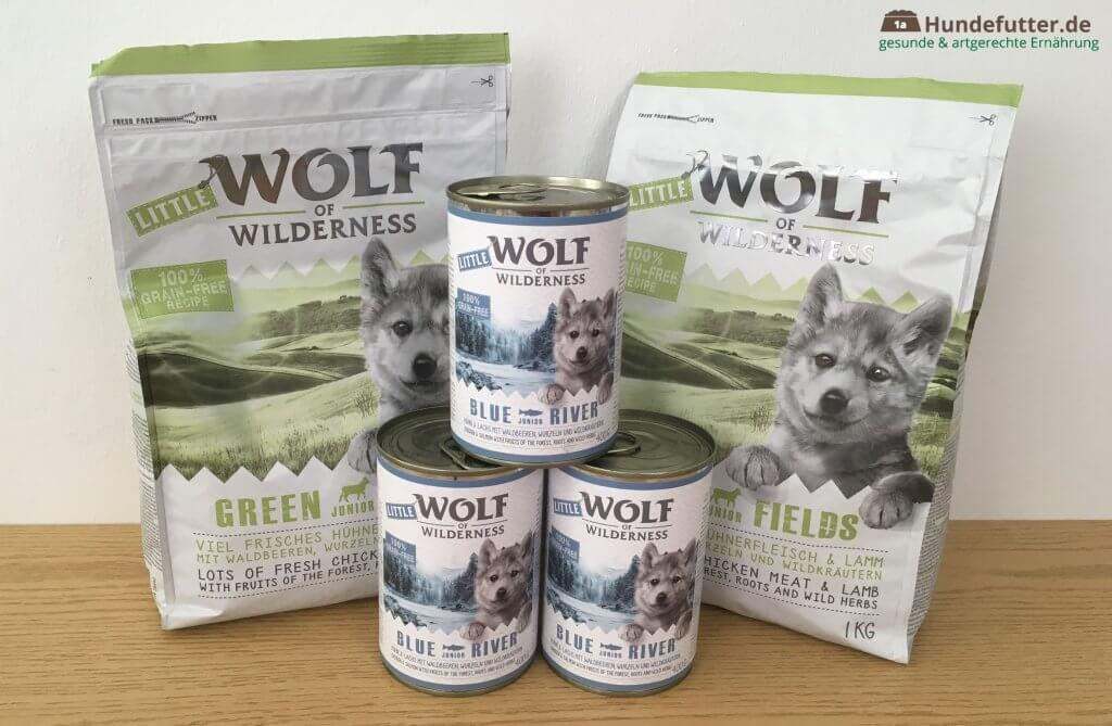 Little Wolf of Wilderness Welpenfutter