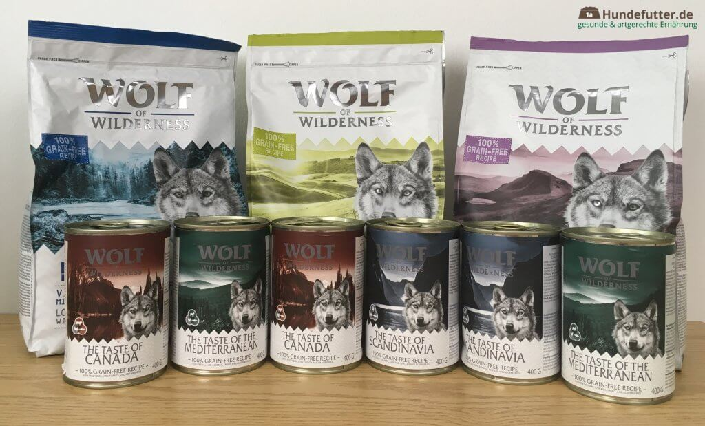 Wolf of Wilderness Adult Hundefutter