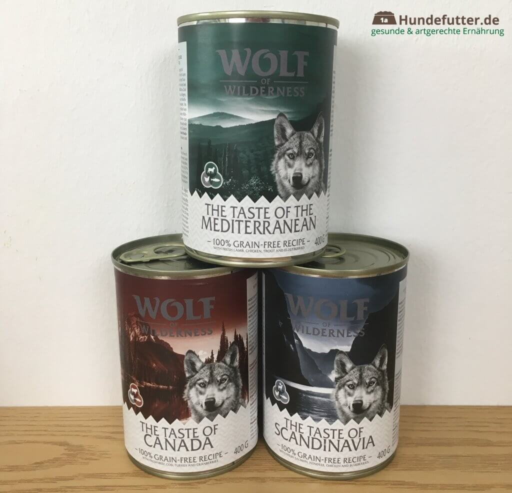 Wolf of Wilderness Adult Nassfutter