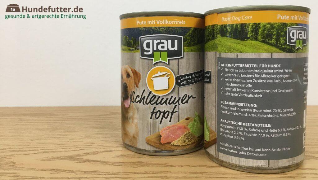 grau Schlemmertopf Pute mit Reis im Test