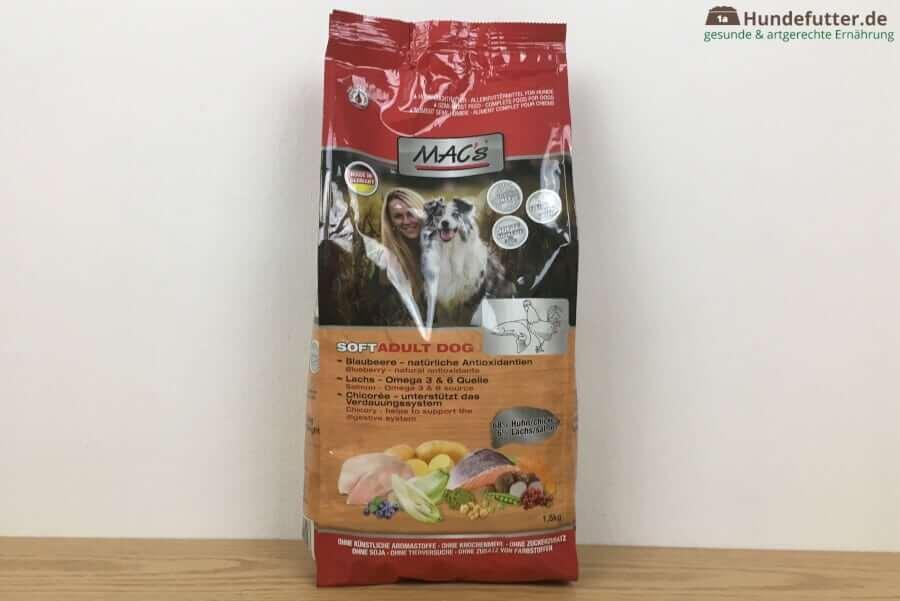 MAC's halbfeuchtes Trockenfutter für Hunde