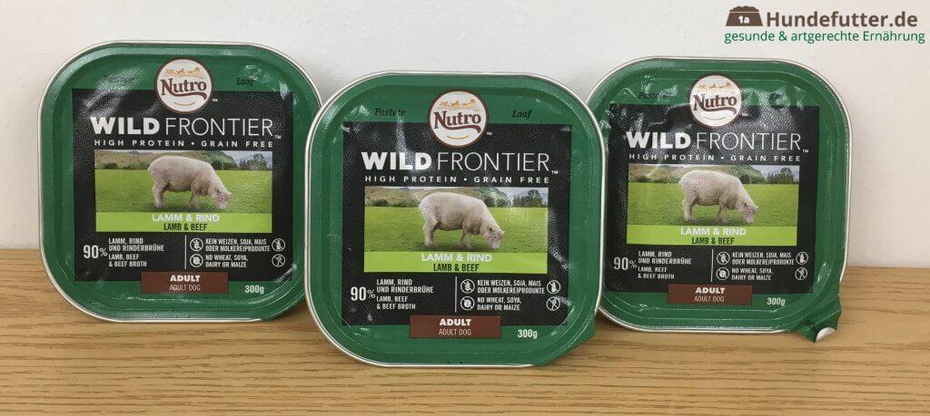 Wild Frontier Adult Nassfutter für Hunde