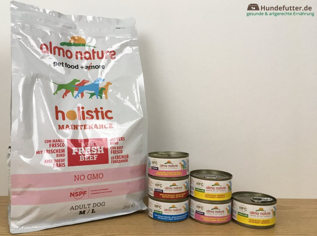 Almo Nature Hundefutter Test