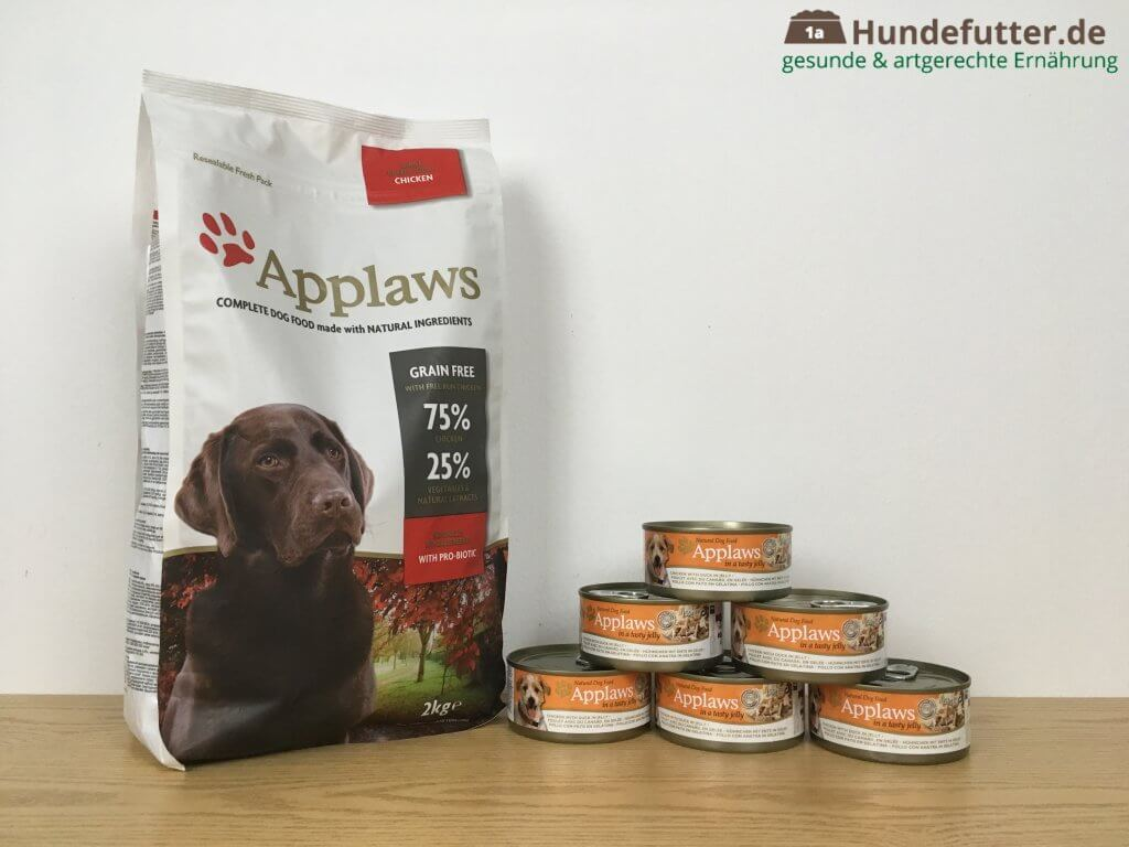 Applaws Adult Hundefutter Test