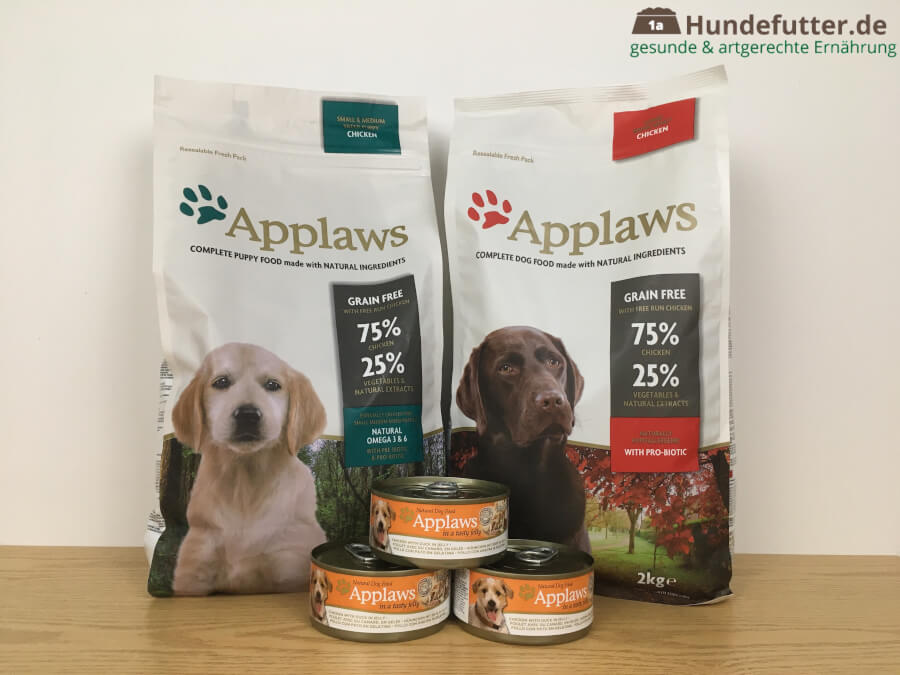Applaws Hundefutter Test