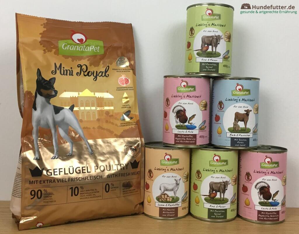 GranataPet Hundefutter Test
