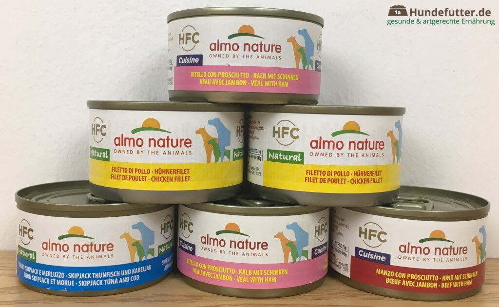 almo nature Nassfutter