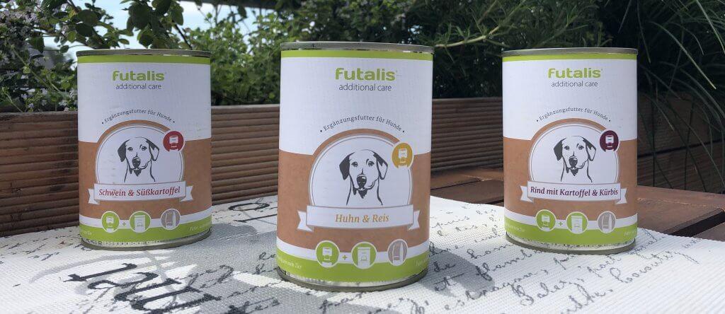 Futalis Nassfutter für Hunde zur Ergänzung